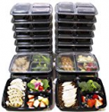 Deals List: [DEAL 20 PACK] 3 Compartment Meal Prep Containers