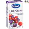 Deals List: Ocean Spray Juice Drink, Cran-Grape, 4.2 Ounce Juice Box (Pack of 40)
