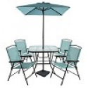 Deals List: Threshold 7pc Metal Folding Patio Dining Set
