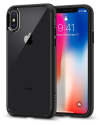 Deals List: Spigen Ultra Hybrid iPhone X Case with Air Cushion Technology and Clear Hybrid Drop Protection for Apple iPhone X (2017) - Matte Black