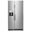 Deals List: Kenmore 50043 25 cu. ft. Side-by-Side Refrigerator with Ice & Water Dispenser - Stainless Steel