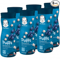 Deals List: Gerber Graduates Puffs Cereal Snack Blueberry Naturally Flavored