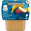 Deals List: Gerber 2nd Foods Apple Strawberry Banana, 4 Ounce Tubs, 2 Count (Pack of 8)