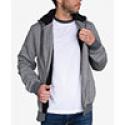 Deals List: Jem Mens Marled Zip-Up Sherpa Fleece Hoodie