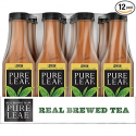 Deals List: Pure Leaf Iced Tea, Lemon, Sweetened, Real Brewed Black Tea, 18.5 Ounce Bottles (Pack of 12)