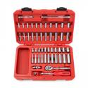 Deals List: TEKTON 1/4-Inch Drive Socket Set Inch/Metric 51-Piece 13001