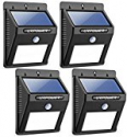 Deals List: URPOWER 8 LED Waterproof Solar Lights(4pack)