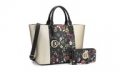 Deals List: MMK Collection Women's Tote Handbag with Matching Wallet
