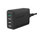 Deals List: RAVPower 40W Quick Charge 3.0 4-Port Desktop Charger