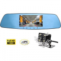 Deals List: Cinlitek 1080P Dash Cam w/Rear View Reversing Mirror Camera