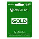 Deals List: Xbox Live 12 Month Gold Membership Card
