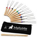Deals List: MalloMe Marshmallow 32 inch Roasting Sticks Smores Kit 10 pc