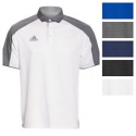 Deals List: adidas Men's Modern Varsity Short Sleeve Polo Athletic Golf Poly Casual Shirt