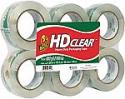 Deals List: Duck HD Clear Heavy Duty Packaging Tape Refill, 6 Rolls, 1.88 Inch x 109.3 Yard, (299016)