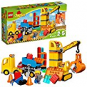 Deals List: LEGO DUPLO Town Big Construction Site 10813 Best Toy for Toddlers, Large Building Block