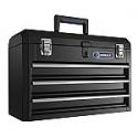 "Deals List: Kobalt Portable 20.67"" 3-Drawer Steel Lockable Tool Box"