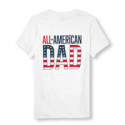 Deals List: All-American Dad Matching Family Mens Graphic Tee