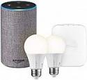 Deals List: Echo (2nd Generation) + SmartThings Hub + 2 Element Smart Bulbs