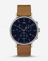 Deals List: Timex Fairfield Leather Strap Chronograph Watch