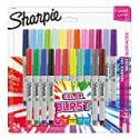Deals List: Sharpie 1949558 Color Burst Permanent Markers, Ultra Fine Point, Assorted Colors, 24-Count