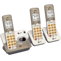 Deals List: AT&T EL52313 3-Handset Expandable Cordless Phone with Answering System & Extra-large Backlit Keys