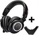 Deals List: Audio-Technica ATH-M50x Professional Studio Monitor Headphones with Bluetooth Adapter-Amplifier BAL-M50X