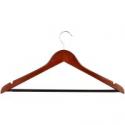 Deals List: 24pk Honey Can Do Wooden Suit Hangers Cherry HNG-01335