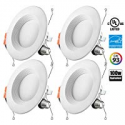 Deals List: 4-Pack Otronics 5/6 Inch Dimmable LED Recessed Light Fixture