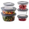 Deals List: Rubbermaid Premier Lids 12-Piece Food Storage Container Set