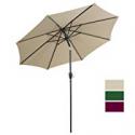 Deals List: Cloud Mountain 9 Ft Patio Umbrella Push Button Tilt