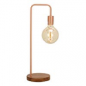 Deals List: Benzara Chic Metal Copper Table Lamp with Bulb