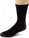 Deals List: 3-Pack Wigwam Men's At Work Crew Socks (Black, L & XL)
