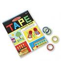 Deals List: Melissa & Doug Tape Activity Book: 4 Rolls of Easy-Tear Tape