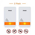 Deals List: 2-Pack MIUO Ultrasonic Pest Repeller Indoor Non-toxic Safe
