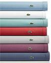 Deals List: Lacoste Solid Cotton Percale Queen 4-piece Sheet Set (Queen)