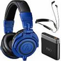 Deals List: Audio-Technica ATH-M50x (Blue) + Klipsch R6 BT Neckband Headphones + FiiO A1 Amp