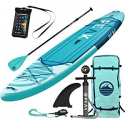Deals List: PEAK 11' Expedition Inflatable Stand Up Paddle Board with Adj Paddle, Travel Backpack and Coil Leash