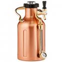 Deals List: uKeg 64 Pressurized Growler for Craft Beer - Copper