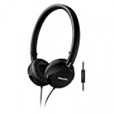 Deals List:  Philips FS3MBK with Mic On-Ear Headphones