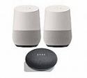 Deals List: 2 Pack Google Smart Speaker with Google Assistant + Free Google Home Mini