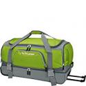 Deals List: Traveler's Choice 30 in. Drop-Bottom Green Rolling Duffel