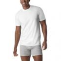 Deals List: 12-PK Hanes Mens FreshIQ ComfortBlend Tagless Crew T-Shirt