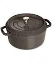 Deals List: Staub Enameled Cast Iron 4-Qt. Round Cocotte