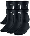 Deals List: Nike Men's Cotton 6-Pairs Socks Collection (crew, low or no-show)