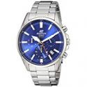 Deals List: Casio Men's 'Edifice' Quartz Stainless Steel Casual Watch, Color Blue (Model: EFV-510D-2AVCF)