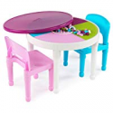 Deals List: Tot Tutors Kids 2-in-1 Plastic LEGO Table and 2 Chairs Set