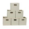 Deals List: Household Essentials 82-1 Foldable Fabric Storage Bins (Set of 6)
