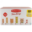 Deals List: Rubbermaid TakeAlongs Assorted Food Storage Container, 40 Piece Set