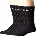 Deals List: NIKE Performance Cushion Crew Socks with Band (6 Pairs), Mens