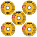 Deals List: 5-Pack DEWALT DW8062B5 4-1/2-Inch by 0.045-Inch Cutting Wheel